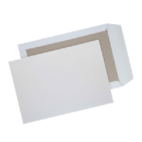 C4 / A4 Strong White Board Backed Envelopes 324mm x 229mm
